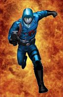 Cobra Commander by deffectx