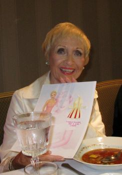 Jane Powell with the paper doll I drew of her... by pdgregg