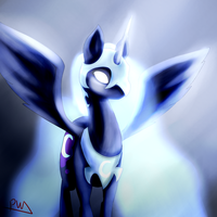 Goddess of the Night .:Gift:. by PuddingzWolf