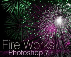 Fire works Brushes for PS 7+ by HeDezines