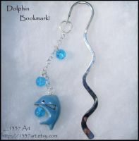 Dolphin Bookmark by 1337-Art
