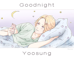 Goodnight Yoosung by nnoctos