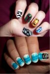 Star Wars Nails by QueenAliceOfAwesome
