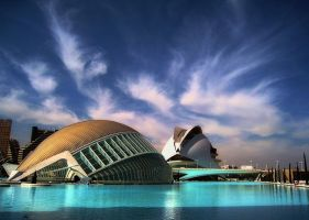 The City of Arts and Sciences by andrzejsg