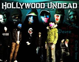 Hollywood Undead by jpdoherty22