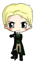 Draco Malfoy Chibi by IcyPanther1