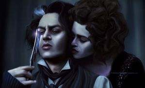 Sweeney Todd: Mr. T and Mrs. L by ThreshTheSky