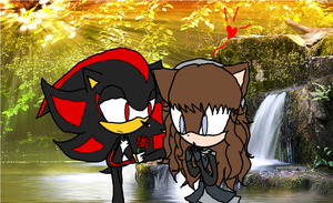 AT: Shadow X Emma .:A Rose for you:. by SnowyAquarius