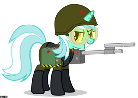 [RA Soviet] Shock Trooper Lyra by A4R91N