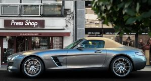 SLS AMG Roadster by C0LL1