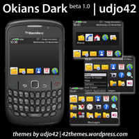 Okians Dark Beta 1.0 For 85xx OS5 by udjo42
