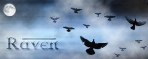 Raven Signature by WhiiteRaven