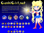 Sailor Moon layout by MikariStar