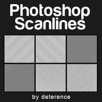 Scanline Patterns Set 1 FIXED by deterence