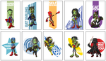 Zombies heroes by Mokhan