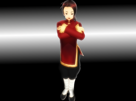 MMD Hetalia China by kuroku2