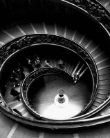 Vatican staircase by Rachybby