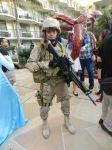 Anime Los Angeles 2015 USMC infantry by Demon-Lord-Cosplay