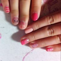 Bunny nails by Swarelle
