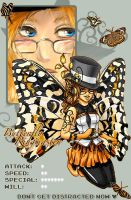 Butterfly Ringmaster by Mysticalpchan