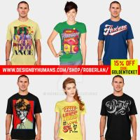 DBH tees with discount by roberlan