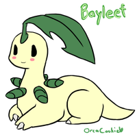 Bayleef for Hollie by OrcaCookie