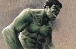 Another Hulk sketch by ISignRob