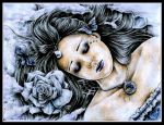 The rose of winter II by Dafca-dreams