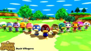 (MMD Model) Duck Villagers Download by SAB64