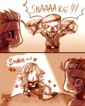 Metal Gear Solid: SNAAAKE!!! by KodamaCreative