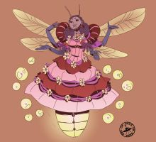 Monster Girls: Insect girl by Signsoflifeonmars