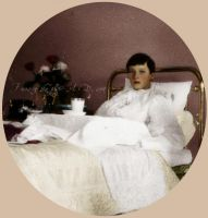 Tatiana being ill 1913 by VelkokneznaMaria