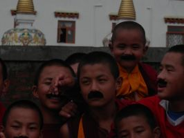 Monks with Mustaches 1 by ReivunChi