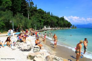 Sirmione - The Beach by Okavanga