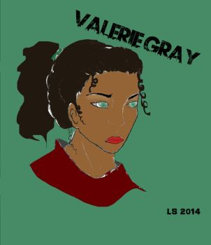 Valerie Gray 2014 - Long Hair by LightningStreak