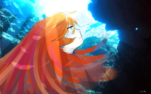 RITSU IS A MERMAID by maddi-x