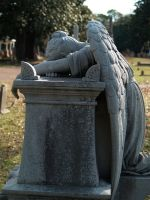 Weeping Angel from Side by nikkichicki