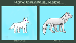 Snowy Improvement Meme by draizor007