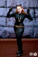 Jule Newmar Catwoman DC13 by BenaeQuee