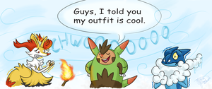 Quilladin outfit Is cool by WeirdaMirrart