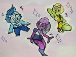 (Watercolor) Gem Adopts Batch 1: [OPEN 1/3] by SebScribbles