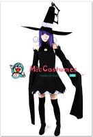 Black Soul Eater Blair Cosplay Costume by miccostumes