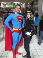 Superman and Lady Blackhawk by Ave606