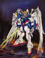 Wing Zero by Greymaulkin
