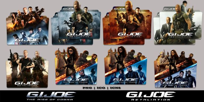 G.I. Joe Double Feature Folder Icon Mega Pack by Bl4CKSL4YER