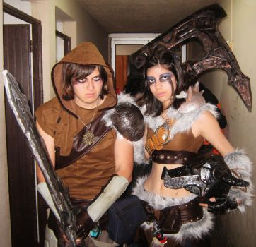 skyrim cosplay by kateleop-chile