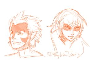 Thundercats reboot sketch by SylviaDraws