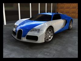 Bugatti Veyron by magic-monkey