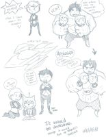 if Cherik were in the AVENGERS by ozymandias93