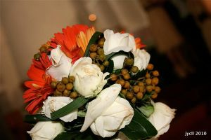 Flower: Brides Maid Bouquet by jycll